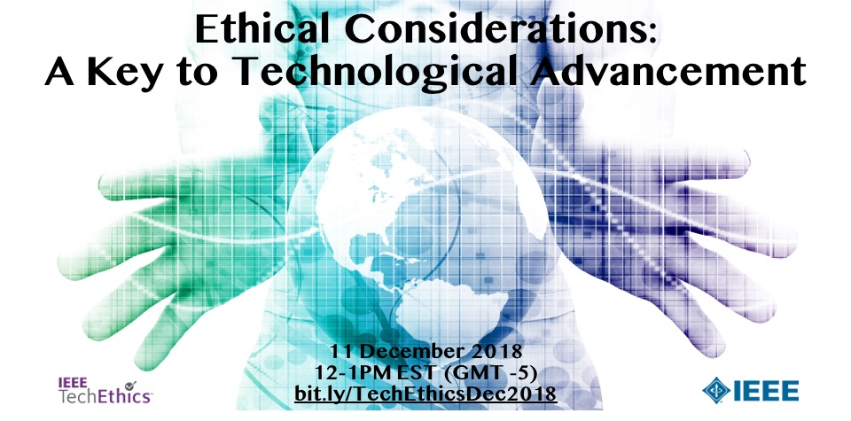 Ethical Considerations - A Key to Technological Advancement